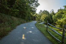 Short Climb On Blackstone Valley Greenway