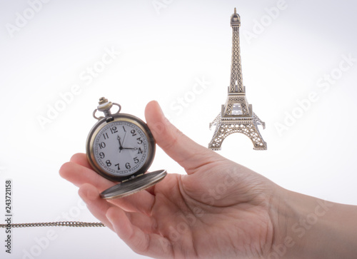 Fotografia  Eifel Tower and time