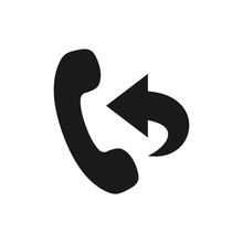 Call Back Service Vector Icon