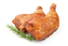 Tasty Smoked Chicken Legs With...