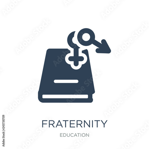 fraternity icon vector on white background f9f1df63e02