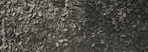 Pinturas sobre lienzo  Infinite musical notes, music conceptual background image, banner size