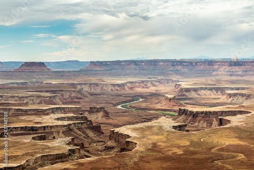 Green River Overlook in Canyonlands National Park, Utah Canvas-taulu