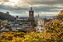 Edinburgh, View From Calton Hi...