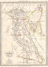 1837, Malte-Brun Map Of Ancien...