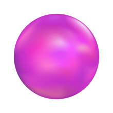 Smooth Marble Ball Illustration