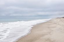 Pacific Ocean Coastline In Ventura County, California