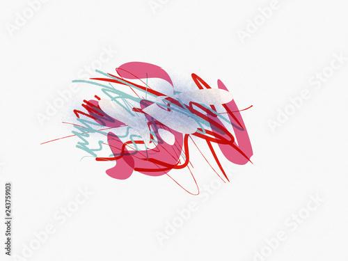 Vászonkép Hommage an Kandinsky