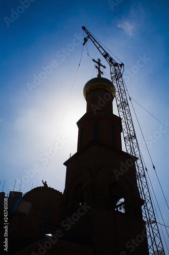 Fotografija  Russian Christian Church. Orthodox Religion
