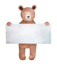 Little Teddy Bear Character Wi...
