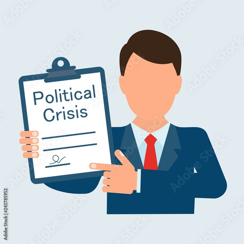 Fotografía  Political crisis Senator, politician