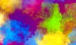 abstract painting rainbow watercolor background