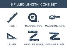 6 Length Icons