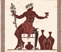 The Ancient Greek God Dionysus...