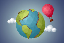 Around The World In A Balloon,...