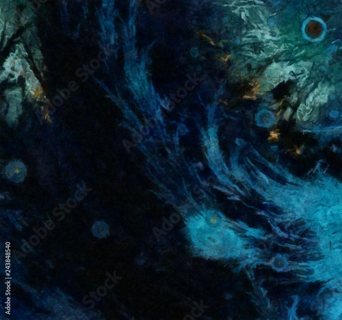 Papiers peints Arctique Impression abstract texture art. Artistic bright close up background. Stock. Oil painting artwork. Modern style graphic wallpaper. Macro strokes of paint. Grunge scratched pattern for design work.