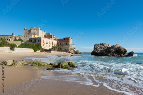 Foto op Aluminium Historisch geb. Sicilian castles. Falconara Castle, Sutera