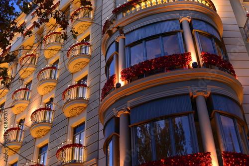 Photo  Moderne Architektur in Barcelona