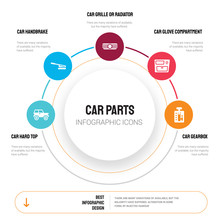 Abstract Infographics Of Car P...