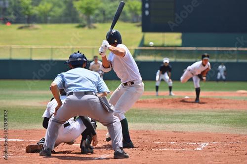Fototapeta 高校野球の試合 obraz