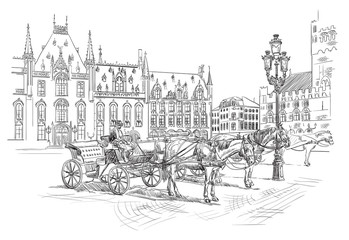 Vector hand drawing Holland 6
