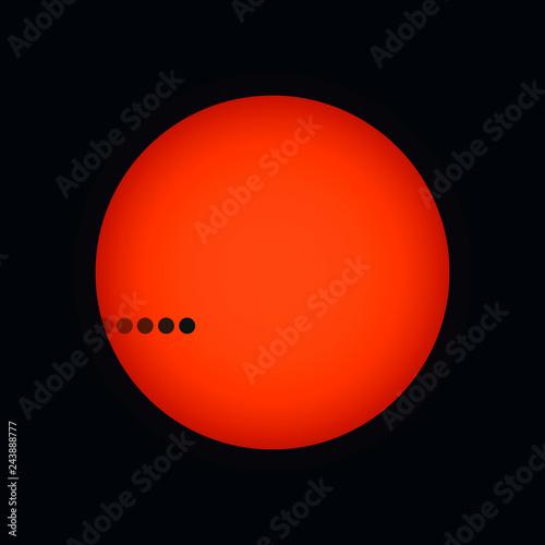 Fotografie, Obraz  Transit of Mercury