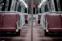 Washington DC Metro Train Empty