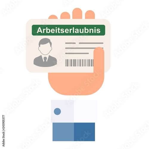 Fotografía  Work permit for foreigners (Germany)
