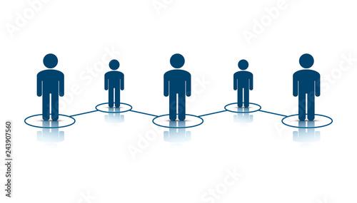 Photo  contatti, persone, business, lavoro di squadra,