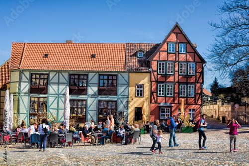 Tuinposter Europa Quedlinburg