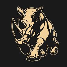 Angry Rhino Emblem