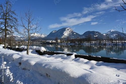 Autocollant pour porte Reflexion Angath in Tirol
