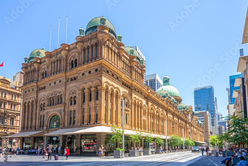 Queen Victoria Building, a heritage site in sydney Wallpaper Mural