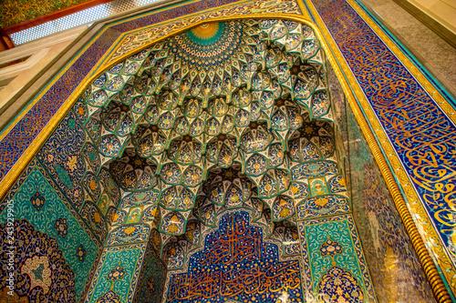 Fotografia sultan qaboos mosque oman