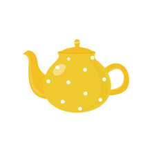 Beautiful Colored Teapot For B...