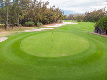 View Of Golf Course Hole Green...