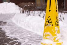 Caution Wet Floor. Slippery Ye...