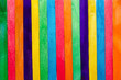 colored background of wooden sticks for ice cream