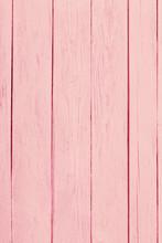 Pink Old Woden Background