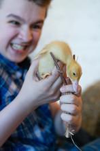 Little Teen Boy Hates Animals