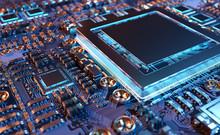Close-up View Of A Modern GPU ...