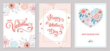 Valentine's Day Card Templates...