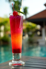 Butterfly Pea Punch Mocktail A...