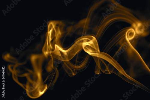 Fotobehang Vuur Abstract Fire