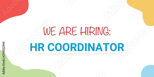 Image result for hiring HR Coordinator