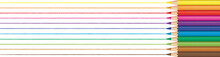 Rainbow Color Pencils Drawn Li...