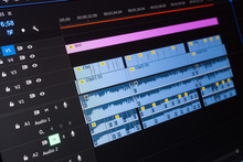 Video Editing Time Line On Com...