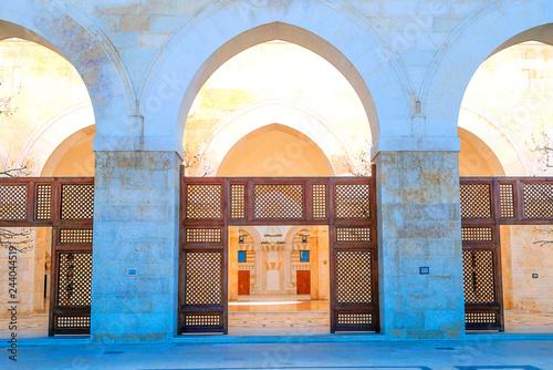 Fotografia  Al-Husseini mosque in Amman