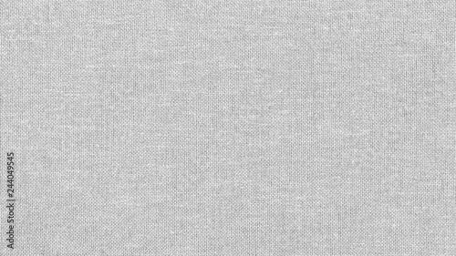 Canvastavla  White linen canvas. The background image, texture.