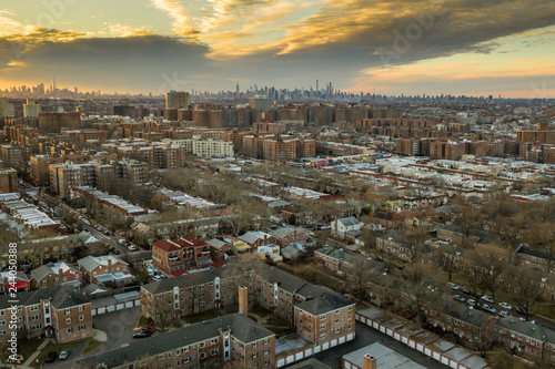 Photo Aerial of Queens New York City